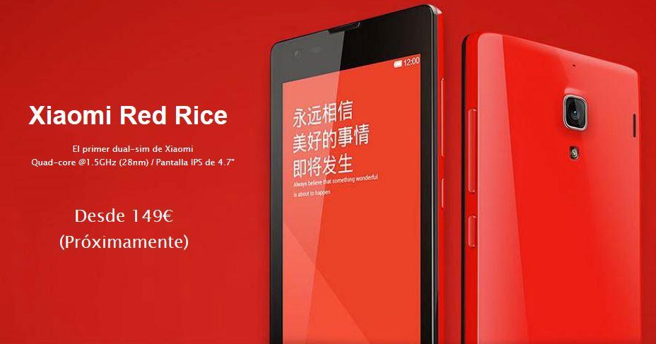 Xiaomi España _ Xiaomi RedRice
