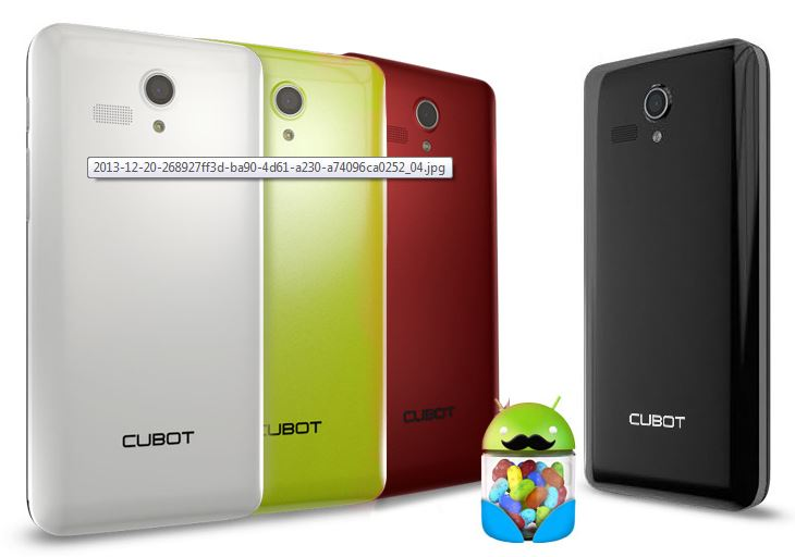 Cubot Booby En colores