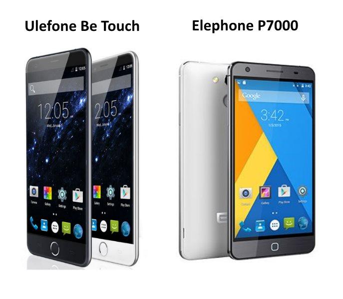 Elephone VS Ulefone
