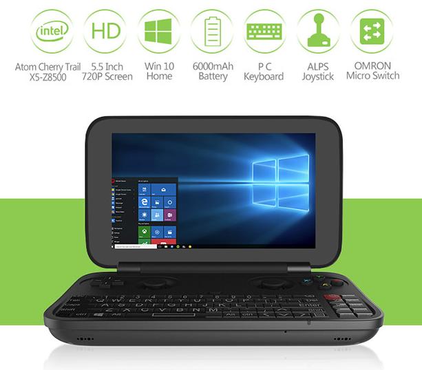 GPD WIN Intel Z8550 Win 10