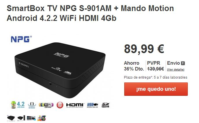 Smart TV NPG SmartBox