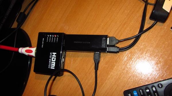 Hub usb energy tv