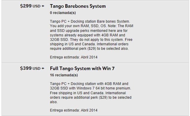 contribuir Tango