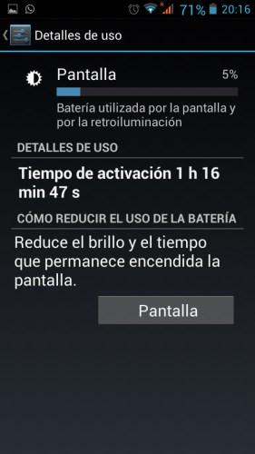 Bateria pantalla Elephone p7 mini