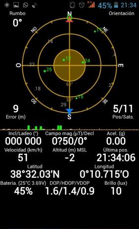 GPS Elephone P7 mini