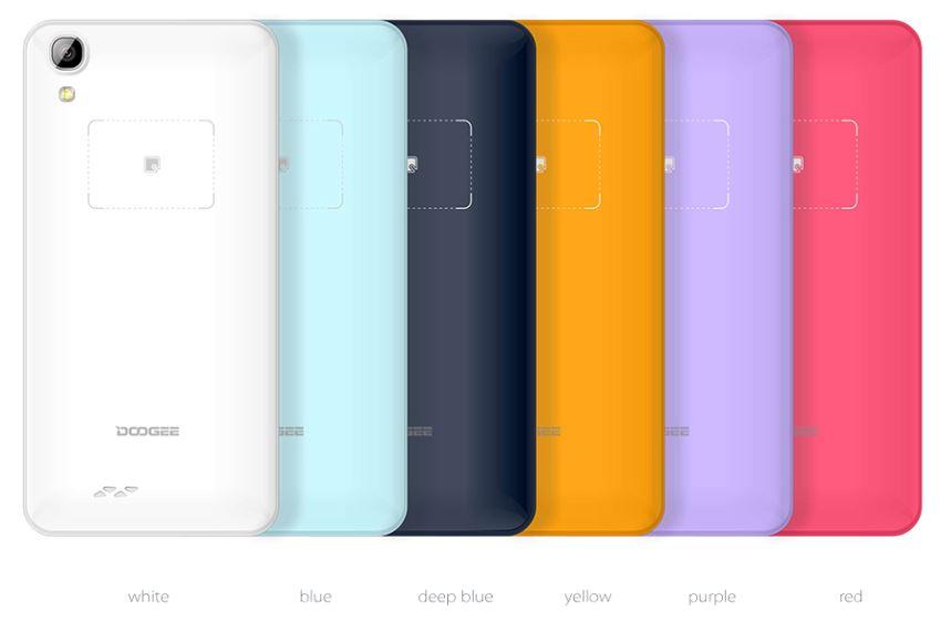 Colores DOOGEE DG800