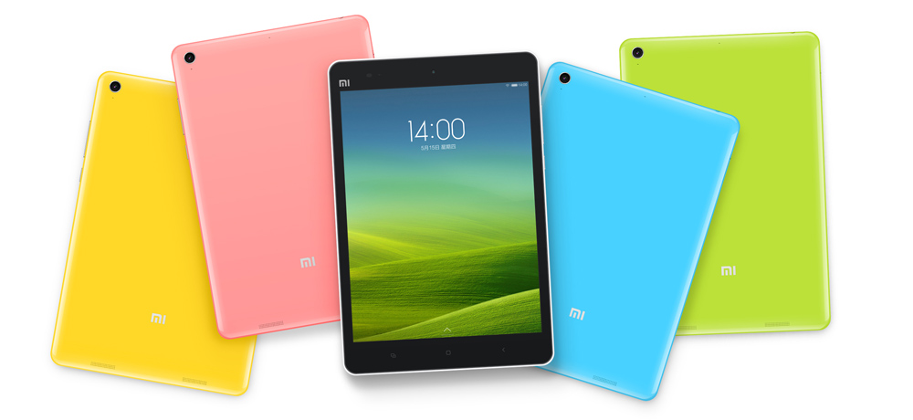 Xiaomi Tablet colores