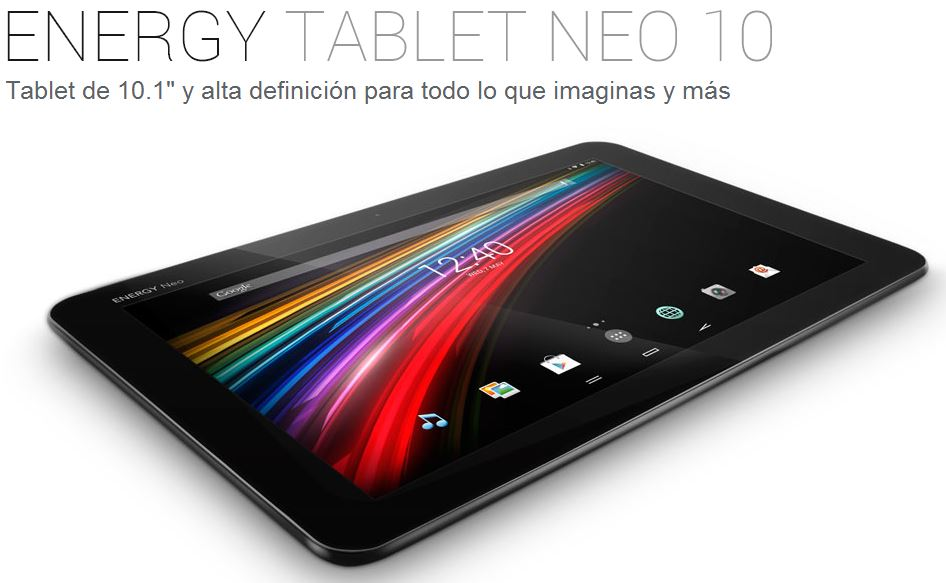 Energy Tablet Neo 10