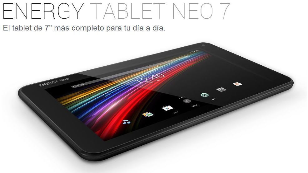 Energy Tablet Neo 7