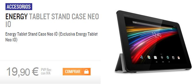 Energy Tablet Stand Case Neo 10