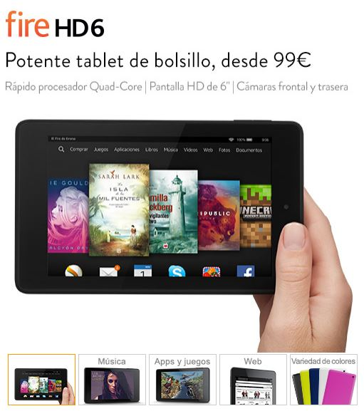 Fire HD 6 - Amazon