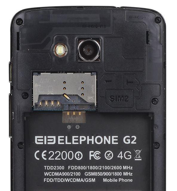 Elephone G2 dual sim