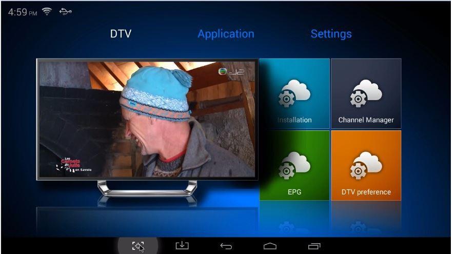 K1 DVB T2 captura