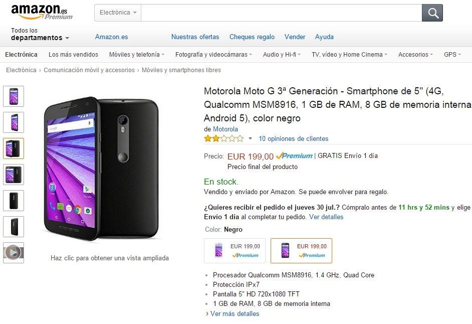 Motorola Moto G 3
