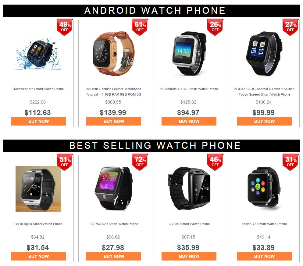 Smart Watch Phone Promotion