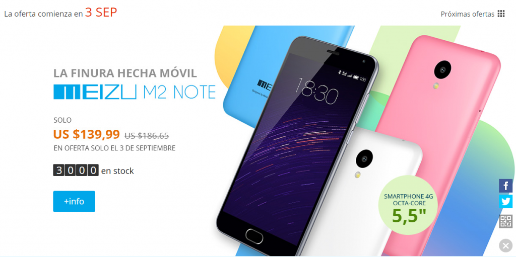 Meizu M2 Note AliExpress
