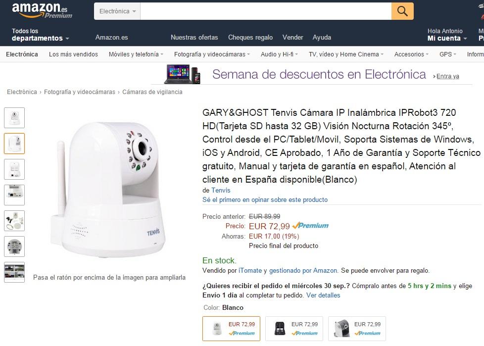 Tenvis Amazon