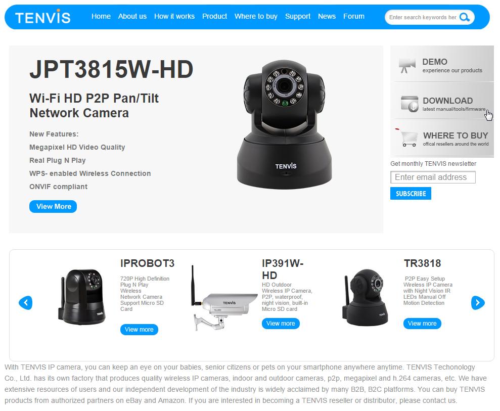 Tenvis.com