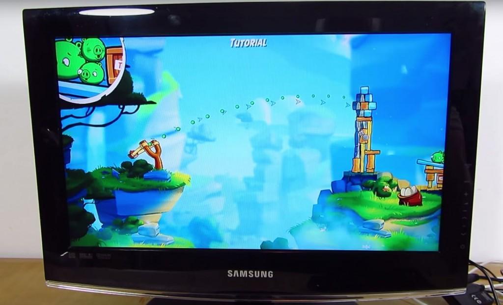 Captura Angry Birds