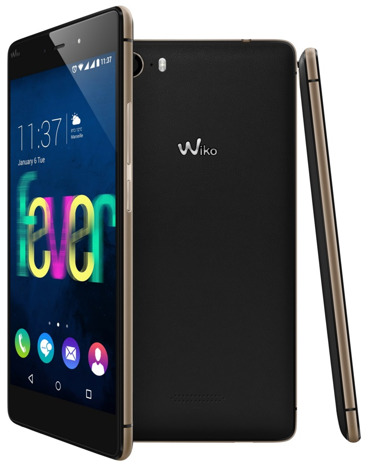 Wiko FEVER black gold