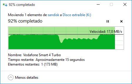 Escritura USB 2.0
