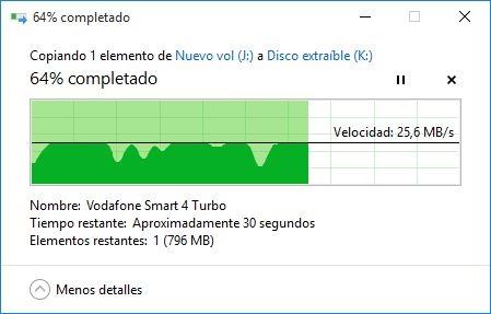 Escritura USB 3.0