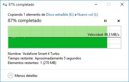 Lectura USB 3.0