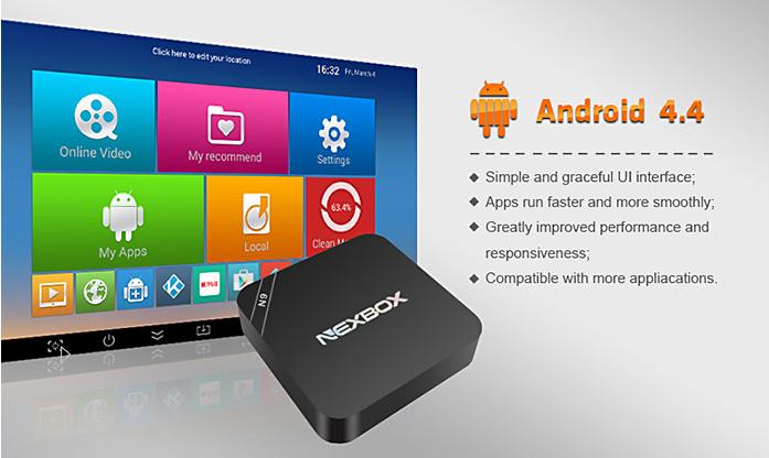 NEXBOX N9 TV menu