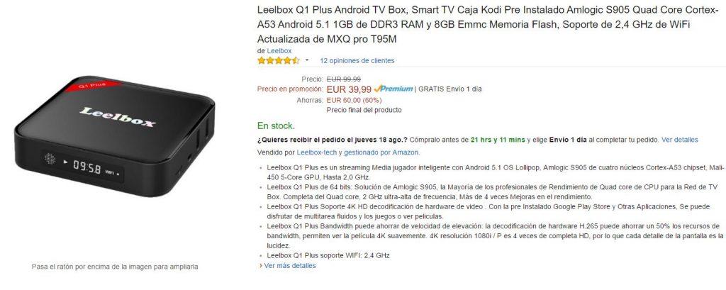 Leelbox Amazon
